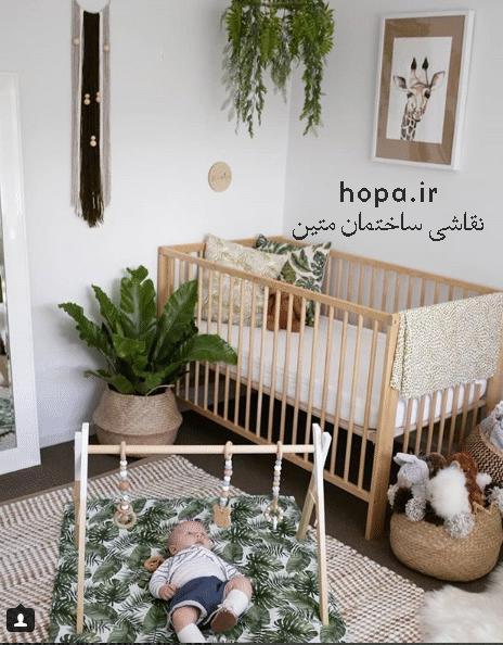 انتخاب رنگ مناسب اتاق کودک